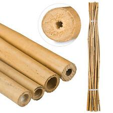 Tiges de bambou 150 cm Bâtons de bambou Tuyaux de bambou 25 pièces Naturel