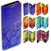 For OPPO Series Case - Water Bubble Print Pattern Wallet Mobile Phone Case Cover