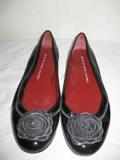 Marc by Marc Jacobs Leather Black Flats Shoes Size 38 / 7.5