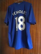 Manchester United  Scholes  2008; XL mint  condition