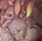 James Jean LAPINS D' AMOUR Limited Edition Art Print S&# MINT! EXPLICIT! RARE!