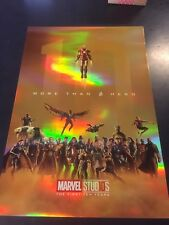 Marvel Studios Poster - The First 10 Years. More than a hero - Limited #