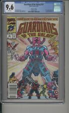 GUARDIANS OF THE GALAXY #25 - CGC 9.6 - NEWSTAND EDITION - GALACTUS -3697917024