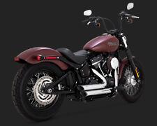 2018 Harley FLSL Softail Slim : Vance and Hines Chrome Short Shots : 17233