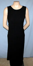 Kathie Lee Tie-Back Little Black Dress Size Small (4/6) Perfect For Career/Churc