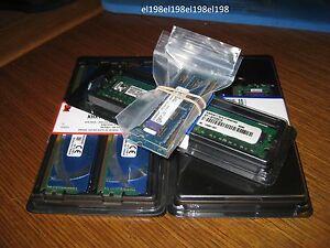 *new LOT 2 Kingston 2GB(2x1GB, 4GB TOTAL) KTA-MB667K2/2G Laptop DDR2-667 *MORE*