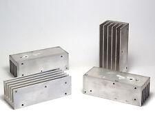 4x Aluminium-Kühlkörper 34 x 42 x 100 mm, Alu Strangguß
