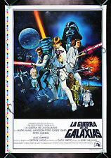 STAR WARS CineMasterpieces SPANISH STYLE C ORIGINAL MOVIE POSTER PRINTER'S PROOF