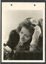 SUPERB GRETA GARBO PORTRAIT BY C S BULL - N MINT 1936 DBLWT KEY BOOK - ICON