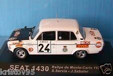 SEAT 1430 RALLYE MONTE CARLO 1977 SERVIA SABATER IXO
