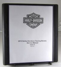 2015 Harley Davidson Touring model motorcycle paper service manual