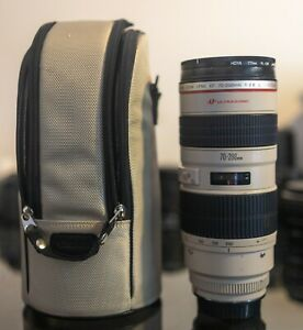 Canon EF 70-200mm f/2.8 USM L Lens in Fair Condition