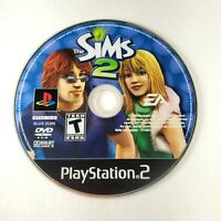 The Sims 2 - GAME DISC ONLY - Sony Playstation 2 PS2 2005 Life Simulation Game