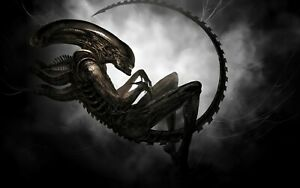alien 4 - Poster (A0-A4) Film Movie Picture Wall Decor Actor