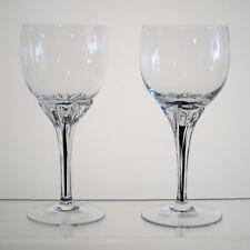 """EXQUISITE BELFOR BOHEMIA Wine Glasses 5 7/8"""", PAIR, Multi Avail"""
