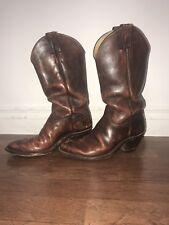 Amazing Vintage Womens Justin Cowboy Boots 7.5D