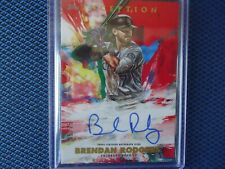 2020 TOPPS INCEPTION AUTO BRENDEN RODGERS COLORADO ROCKIES 65/75 NICE