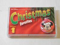 Walt Disney Records Presents Christmas Favorites Volume 1 Cassette Tape