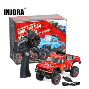 2.4G 1:18 RTR RC Rock Crawler Car Off Road Climbing Vehicle Truck Remote Control