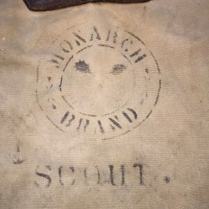 Monarch Brand Scout Duluth Portage Pack Distressed Vintage