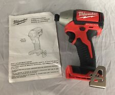 "Milwaukee M18 18V 1/4"" Hex Brushless Impact Driver (Tool-Only) 2750-20 [A]"