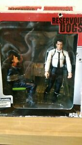 Reservoir Dogs Figure Set mezco mega rare oop stuck in middle with you diorama