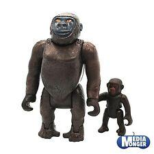 Playmobil ® safari | zoo | wildlife: wwf | gorille | argent dos avec bébé