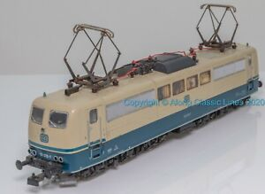 Roco 4132, HO Scale, Class BR151 Co-Co Electric Loco, 151-076, DB blue and cream