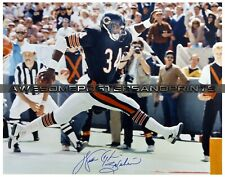 "NFL Chicago Bears, Walter Payton signed Large Photograph Reprint 11""x14"""