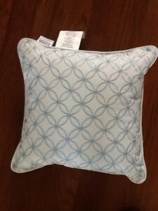Croscill Cape May Square Pillow, 16' X 16' NWOT