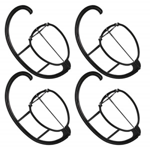 4 Pack Wig Hanger, Portable Hanging Wig Stand For Wigs and Hats, Collapsible Wig