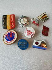 9 Pin's Pins épinglette divers