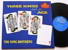 THE KING BROTHERS THREE KINGS AND AN ACE BRUNSWICK 50S/60S POP / TEEN LP MINT-