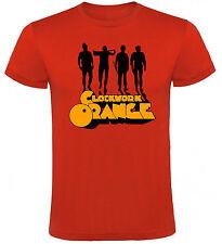 Camiseta La Naranja Mecánica A Clockwork Orange Hombre varias tallas y colores