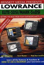 Lowrance Elite-5 DSI Fishfinder/Chartplotter Mark-5x DSI (2012, DVD NEUF)