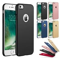 For iPhone 6 6s 7 8 Plus X XR XS Max Case Shockproof Ultra Thin Slim Hard Cover