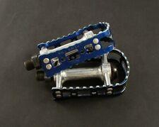 MKS BMX-7 old school BMX Pedals blue 9/16