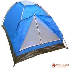 Tenda igloo 2 o 4 posti impermeabile per camping mare spiaggia scout 200x130h100