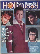 Elvis Presley Rona Barretts Hollywood Magazine October 1978