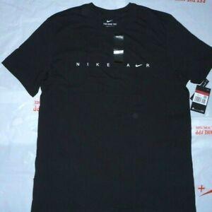 2021 Men Nike AIRUltra Swoosh T-Shirt Top Size S-M  /Black