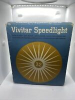 Vivitar Speedlight 32 Electronic Camera Clip On Flash Unit - As Pictured