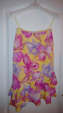 LUXUS COUTURE ESCADA Rock BLUMEN knit skirt silk pink 34/36 Romantik NP880,-TOP