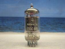 ECC83 SIEMENS (12AX7  CV4004 E83CC ) # NOS # 17 mm Plates # Code: mC5 (2847)