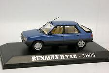 Norev Presse 1/43 - Renault 11 TXE 1983 Bleue