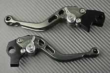 Paire de levier leviers levers court short CNC Titane Kawasaki ZZR 400