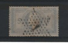 "FRANCE STAMP TIMBRE N° 33 "" NAPOLEON III 5F VIOLET GRIS "" OBLITERE TB   R322"