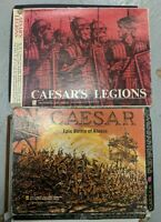 Avalon Hill Caesar's Legions and Epic Battle of Alesia Board War Strategy Games