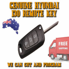 Genuine Hyundai I30 + Elantra Remote Flip Key - Complete Key - 434mhz/ID 46 NEW