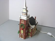 Department 56 New England Village Series - Old North Church - Christmas