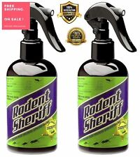 Pest Control Spray Products Rodent Sheriff 2 Pack As Seen on Tv Easily Repeller